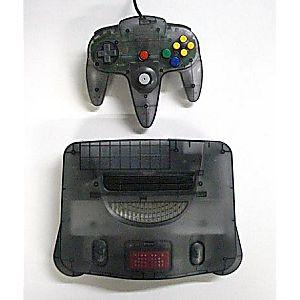 Smoke Gray Nintendo 64 System