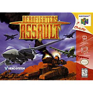 aero fighters assault n64 en espaol