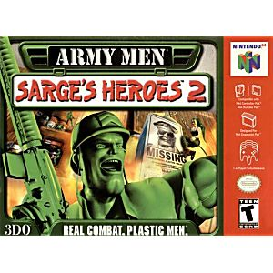 Army Men Sarge's Heroes 2 Gray