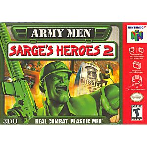Army Men Sarge's Heroes 2 Green