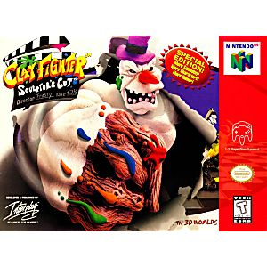 Clayfighter 63 1/3 Sculptor's Cut