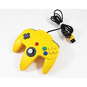 Nintendo 64 N64 Yellow Controller