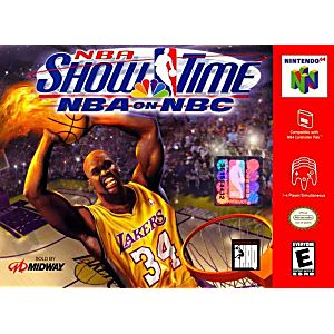 NBA Showtime NBA on NBC