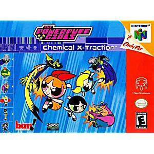 PowerPuff Girls Chemical X-Traction