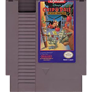 Chip n Dale Rescue Rangers NES Nintendo Game