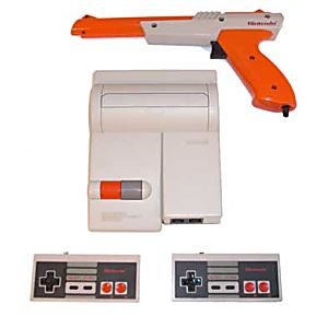 Original NES Nintendo Top Loader System