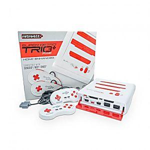 SR3 SuperRetro Trio Plus - 3 in 1 NES/SNES/Genesis HD Console