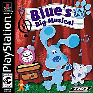Blues Clues Blues Big Musical