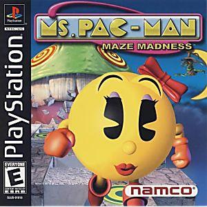 Ms Pacman Maze Madness