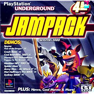 PlayStation Underground JamPack Winter 2000
