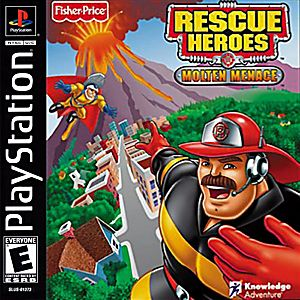 Rescue Heroes Molten Menace