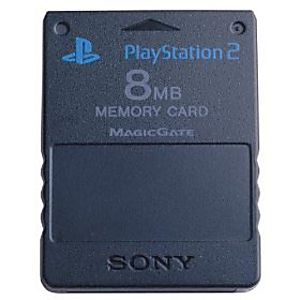 Original Sony PS2 8MB Memory Card
