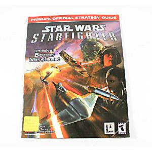 Star Wars Starfighter Official Strategy Guide (Prima Games)