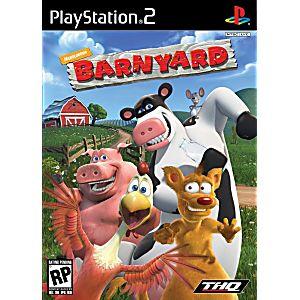 barnyard sony playstation 2 game
