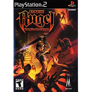 Dark Angel Vampire Apocalypse Sony Playstation 2 Game