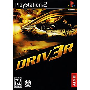 Driv3r Driver 3 Sony Playstation 2 Game