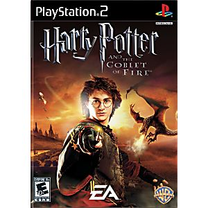 Harry Potter Goblet Of Fire Sony Playstation 2 Game
