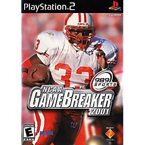 PS2 NCAA GameBreaker 2001