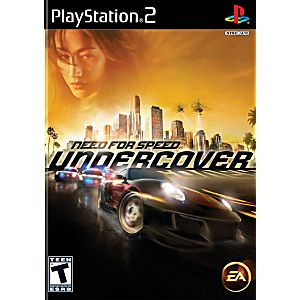 Need for Speed Undercover Sony Playstation 2 Game