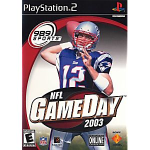 PS2 NFL Gameday 2003