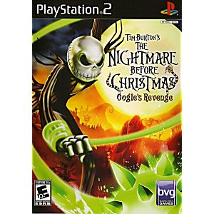 Nightmare Before Christmas Oogies Revenge Sony Playstation 2 Game