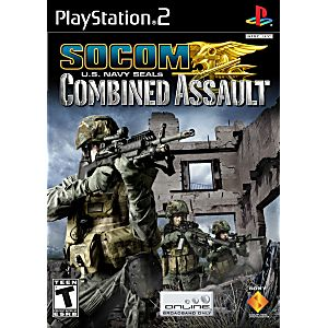 socom us navy seals combined assault sony playstation 2 game