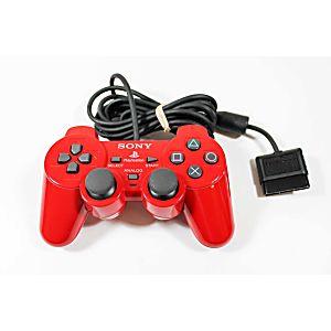 Playstation 2 RARE Automotive/Automobile Color Collection Controller -Super Red SCPH-10010