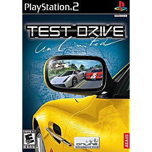 test drive unlimited sony playstation 2 game