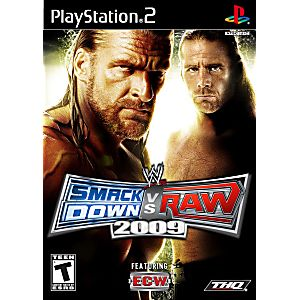 wwe raw vs smackdown games