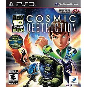 Ben 10: Ultimate Alien Cosmic Destruction