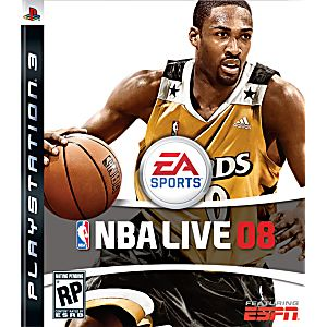 nba live 2008 playstation 3 game rh lukiegames com Madden NFL 10 PS3 PS3 NBA Live 9