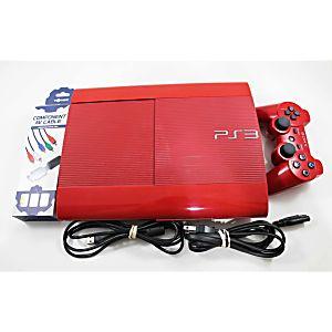 PS3 Super Slim Red God of War Edition 500GB System