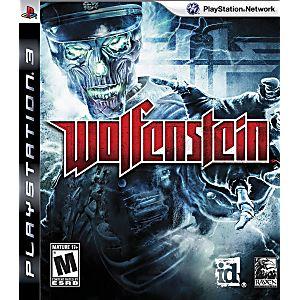 wolfenstein playstation 3 game
