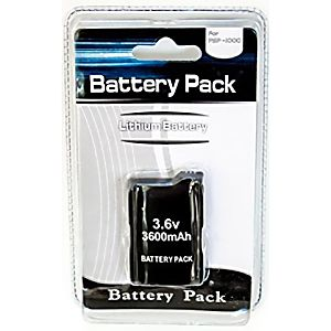 PSP 1000 Replacement Battery