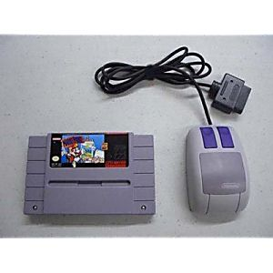 Mario Paint Game and Mouse