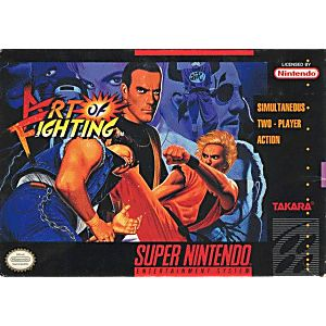 Art Of Fighting Snes Super Nintendo