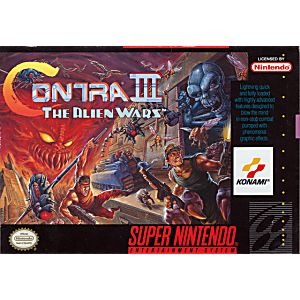 Contra III 3 The Alien Wars