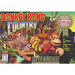 Donkey Kong Country Competition Cart