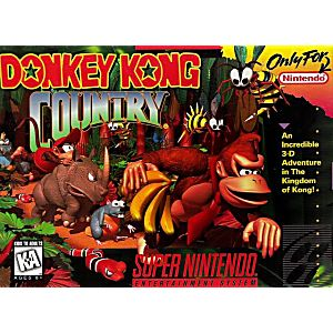 donkey kong country snes super nintendo game