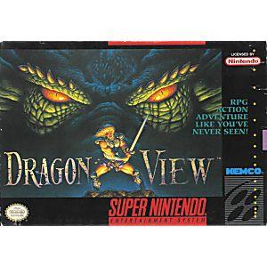 Drakkhen 2 Dragon View