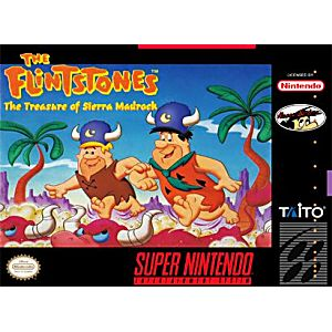 Flinstones Treasure of Sierra Madrock
