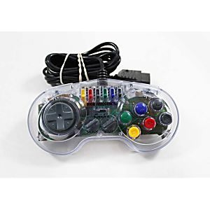 Super Nintendo SNES High Frequency Turbo Controller - Clear