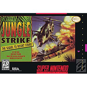 Jungle Strike the Sequel to Desert Strike