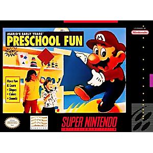 Mario's Early Years Preschool Fun
