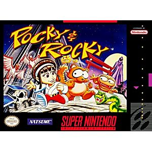 Pocky and Rocky