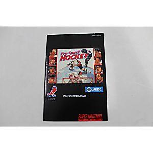 Manual - Pro Sport Hockey - Snes Super Nintendo