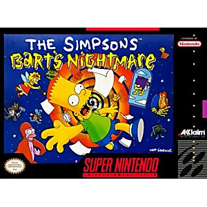 bart Simpson Beautiful Ds Case Video Games & Consoles