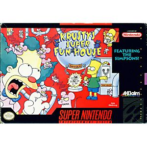 Simpsons Krusty's Super Funhouse