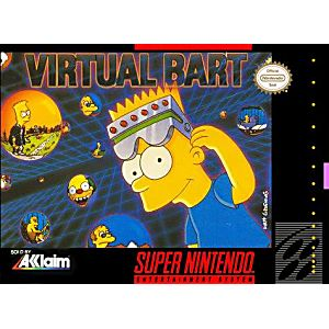 Simpsons Virtual Bart