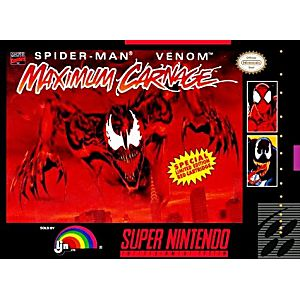 Spider-man / Venom Maximum Carnage Gray